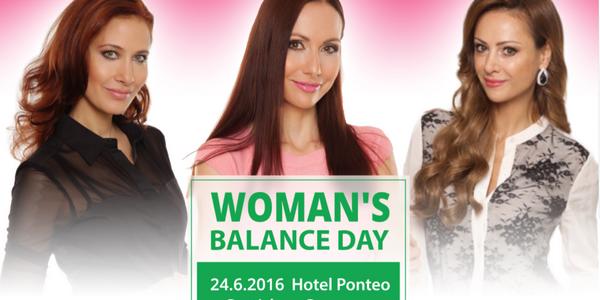 Dámy, zažite svoj Woman´s Balance Day!